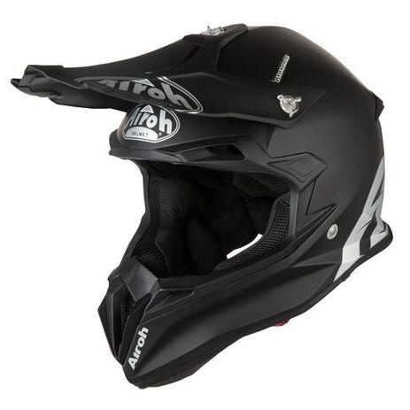 _Airoh Terminator Open Vision Color Helmet Black | TOV11 | Greenland MX_