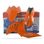 _Polisport KTM SX 07-10 EXC/EXCF 08-11  Plastic Kit Orange | 90182 | Greenland MX_