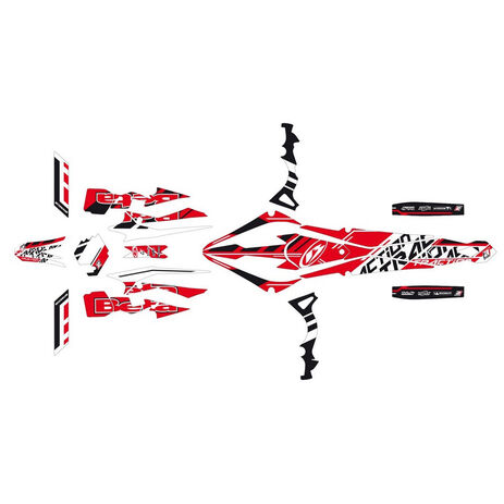 _Traction Beta Evo 13-15 Stickers Kit | 2T10E | Greenland MX_