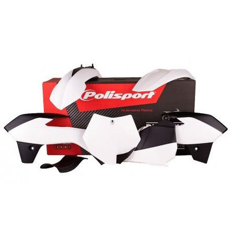 _Polisport  KTM 85 2013-14 Plastic Kit White | 90556 | Greenland MX_