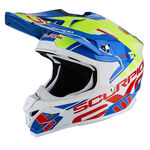 _Scorpion VX-15 Evo Air Argo Helmet Blue/Yellow Fluo   35-246-202-P   Greenland MX_