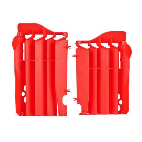 _Honda CRF 450 R Radiator Louver Kit 13-15 Red   8455800002   Greenland MX_