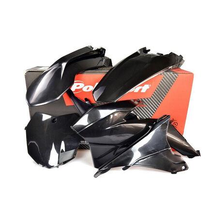_Polisport KTM EXC/ EXC-F 14-16 Plastic Kit Black | 90646 | Greenland MX_