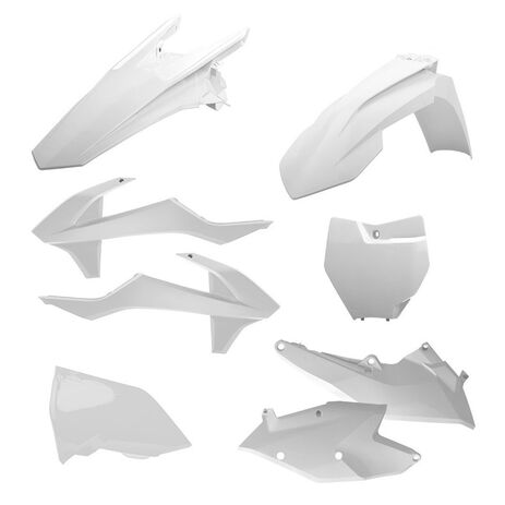 _Polisport KTM EXC/EXC-F 17 Plastic Kit White | 90708 | Greenland MX_