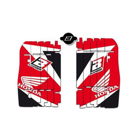 _Blackbird Honda CRF 250 R 10-13 CRF 450 R 09-12 Rad Louver Decals | A102E | Greenland MX_