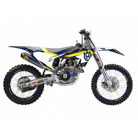 _Blackbird Dream 4 HusqvarnaTC/FC 16-18 TE/FE 17-19 Kit Decal | 2612N | Greenland MX_