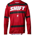 _Shift 3Lack Label Strike Jersey Red | 19311-208-P | Greenland MX_