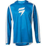 _Shift Whit3 Label Race Jersey Blue/White | 24402-025 | Greenland MX_