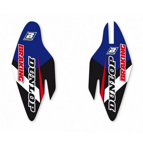 _Blackbird Fork Guard Decals Kit Dream 4 Yamaha YZ 125-/250 15-20 YZ 450 F 10-17   5237N   Greenland MX_
