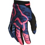 _Fox 180 Skew Ladies Gloves Blue | 28178-203 | Greenland MX_