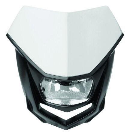_Polisport Halo Headlight White/Black   8657400001   Greenland MX_
