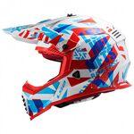 _LS2 Fast Mini EVO MX437 Funky Youth Helmet   40437J3302-P   Greenland MX_