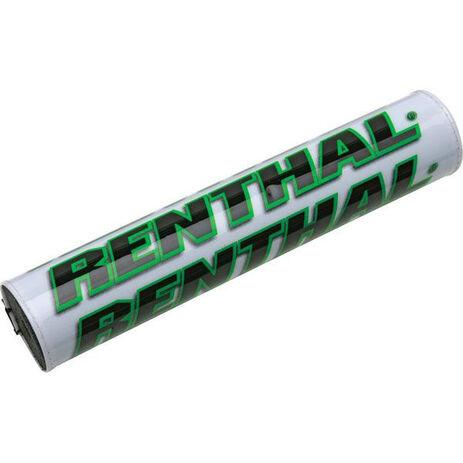 _Renthal square handlebar pad white/green   P267   Greenland MX_