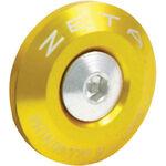 _Bar end plug  zeta 29 mm gold | ZE48-7004 | Greenland MX_