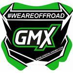 _GMX Mini Plate Sticker 5,5 x 5,5 cm | PU-MBFPEN-P | Greenland MX_