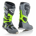 _Acerbis X-Rock Boots Gray/Lime Fluo | 0022441.447 | Greenland MX_