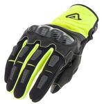 _Acerbis Carbon G 3.0 Gloves Yellow Fluor/Black | 0022214.279 | Greenland MX_