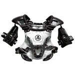 _Acerbis Bomber Junior Roost Deflector Clear/Black | 0006307.363 | Greenland MX_