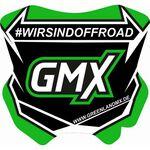 _GMX Mini Plate Sticker 5,5 x 5,5 cm | PU-MBFPDE-P | Greenland MX_