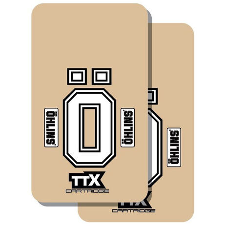 _Tj vinyl fork protectors ÖHLINS TTX | TJFOH | Greenland MX_