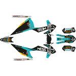 _KTM EXC/EXC-F 2020 Full Sticker Kit WESS   SK-KTEXC20WSTU-P   Greenland MX_