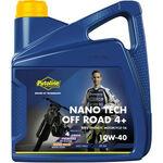_Putoline 4 Strokes Off Road Nano Tech 4+ 10W-40 Oil 4 Lt | PT74021 | Greenland MX_