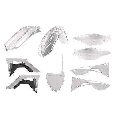 _Polisport Honda CRF 450 F 17-.. Plastic Kit Transparent | 90771 | Greenland MX_