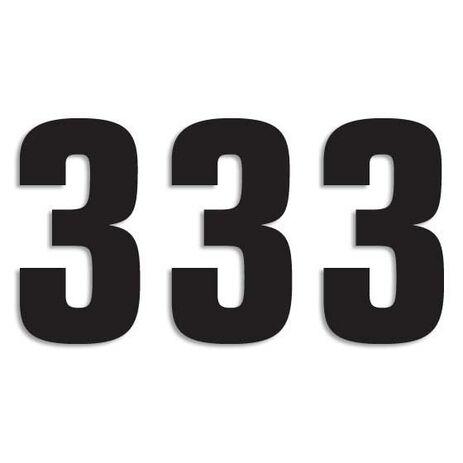 _Blackbird Vinyl Numbers # 3 Black (16 x 7,5 cm)   5048-20-3   Greenland MX_