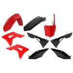 _Polisport Honda CRF 250 R 18-20 CRF 450 R 17-20 Plastic Kit Red/Black | 90833-P | Greenland MX_