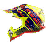 _LS2 MX470 Subverter Bomber Helmet Yellow Fluo/Blue | 404702154P | Greenland MX_