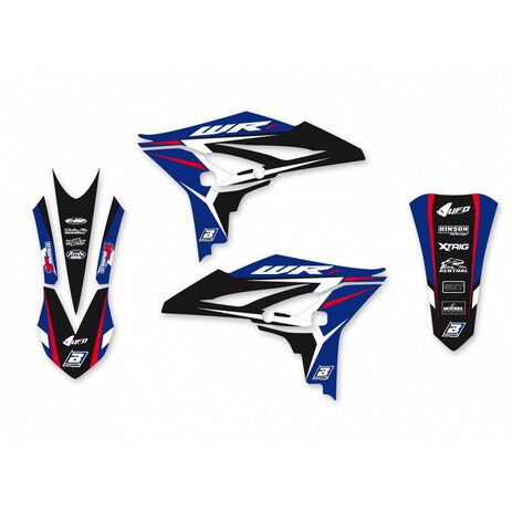 _Graphic Kit Blackbird Dream 4 Yamaha WR 450 F 12-15 | 2241N | Greenland MX_