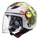 _LS2 Funny Mini OF602 Croco Youth Helmet   306022061-P   Greenland MX_