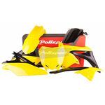 _Polisport Suzuki RMZ 250 10-18 Plastic Kit OEM 14-16   90626   Greenland MX_