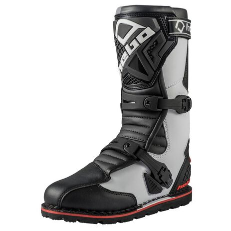 _Hebo Trial Technical Evo 2.0 Micro Boots White | HT1013B | Greenland MX_