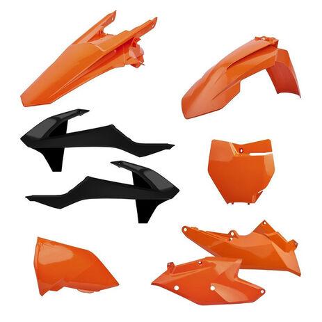 _Polisport KTM EXC/EXC-F 17-18 Plastic Kit Orange   90707   Greenland MX_