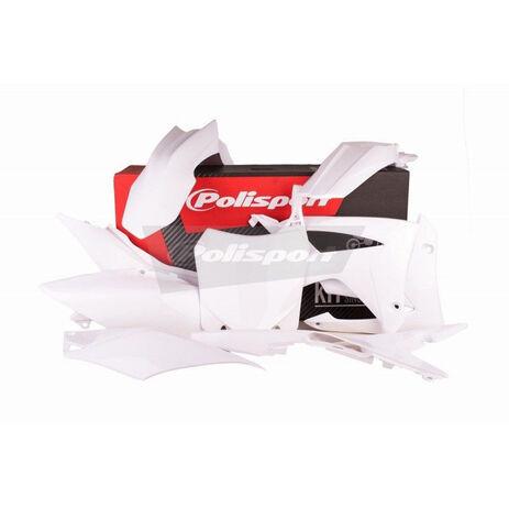 _Polisport Honda CRF 250 R 14-17 CRF 450 R 13-16 Plastic Kit White | 90561 | Greenland MX_