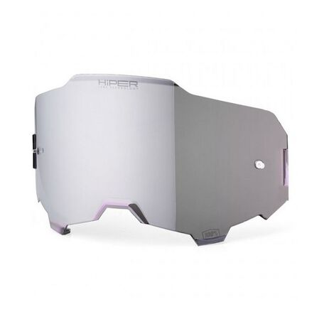 _100% Armega Hiper Lens Silver Mirror | 51041-038 | Greenland MX_