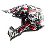 _LS2 MX470 Subverter Voodoo Helmet Black/White | 404702532P | Greenland MX_