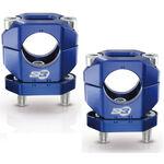 _S3 Aluminium Handlebar Clamp 28 mm Blue | HA-CL13-U | Greenland MX_