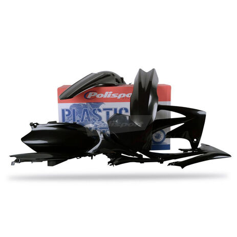 _Polisport  CRF 250 2010 CRF 450 09-10 plastic kit black | 90212 | Greenland MX_
