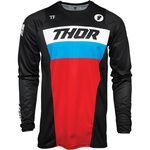 _Thor Pulse Racer Jersey Black/Red/Blue | 2910-617NRA-P | Greenland MX_