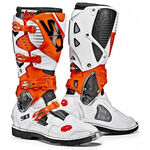 _Sidi Crossfire 3 Boots White/Orange/BLack | BSD3300200 | Greenland MX_