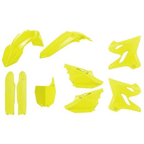_Polisport Yamaha YZ 125/250 15-20 Full Plastic Kit Yellow Fluo | 90748-P | Greenland MX_