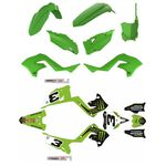 _Polisport Restyling Plastic Kit + Full Sticker Kit Kawasaki KX 125/250 03-08 | KIT-PAPR-3 | Greenland MX_