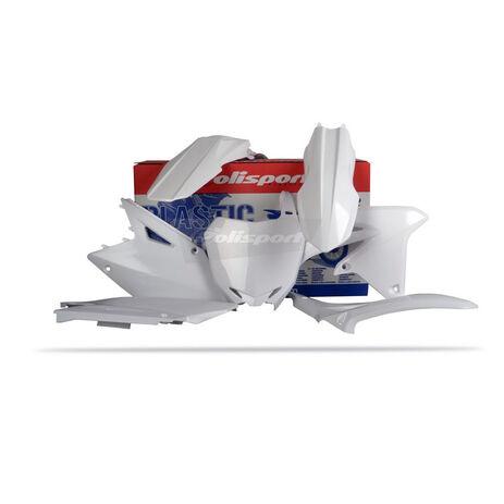 _Polisport Suzuki RMZ 450 08-15 plastic kit white | 90145 | Greenland MX_
