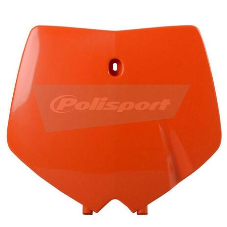_PolisportKTM SX 99-02  front plate orange | 8660300001 | Greenland MX_