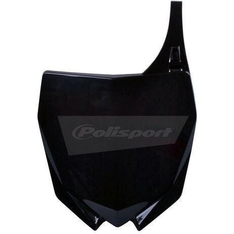 _Polisport Yamaha YZ 250 F 10-18 YZ 450 F 10-17 front plate black | 8678400002 | Greenland MX_