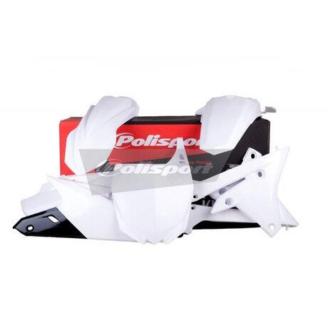 _Polisport Yamaha YZ 250/450 F 14-16 Plastic Kit White | 90582 | Greenland MX_