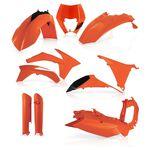 _Acerbis KTM EXC/EXC-F 12-13 Plastic Full Kit Orange | 0016234.010-P | Greenland MX_