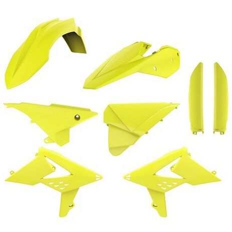 _Polisport Full Plastic Kit  Beta RR 2T/4T 13-17 Yellow Fluor | 90739-P | Greenland MX_